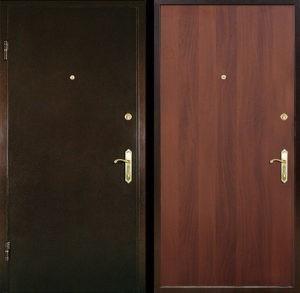 Входная металлическая дверь порошковое напыление + ламинат СП015
